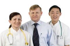 Gruppo di medici. Fotografia Stock Libera da Diritti