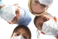 Gruppo di medici Fotografia Stock Libera da Diritti