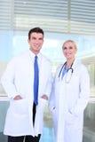 Gruppo di medici all'ospedale Fotografia Stock Libera da Diritti