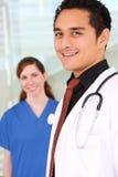 Gruppo di medici all'ospedale Fotografia Stock