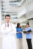 Gruppo di medici attraente Fotografia Stock