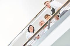 Gruppo di medici in clinica Fotografie Stock