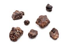 Gruppo di meteoriti Fotografie Stock Libere da Diritti
