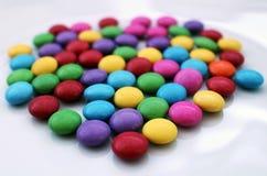 Gruppo di molti sapientoni saporiti variopinti del cioccolato Immagine Stock Libera da Diritti