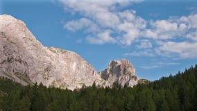Gruppo di Monte Cavallo, alpi del Friuli Venezia Giulia, Italia Lasso di tempo video d archivio