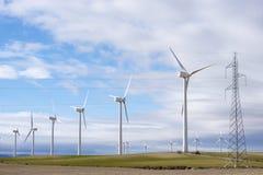 Energia di vento fotografia stock libera da diritti