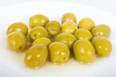 Gruppo di olive Immagini Stock Libere da Diritti