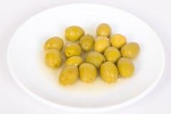 Gruppo di olive Fotografia Stock Libera da Diritti