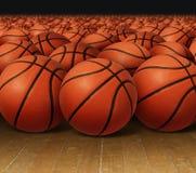 Gruppo di pallacanestro illustrazione vettoriale