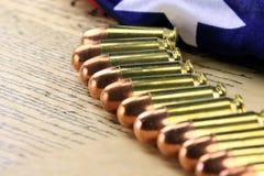 Gruppo di pallottole Fotografia Stock Libera da Diritti