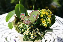 Gruppo di Pasqua Fotografia Stock