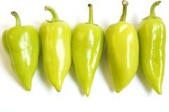 Gruppo di peperoni Fotografia Stock