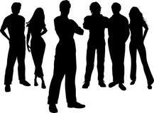 Gruppo di persone Immagine Stock