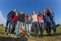 Gruppo di persone Immagine Stock Libera da Diritti