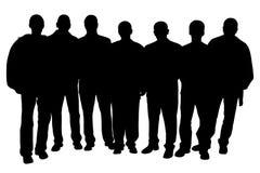 Gruppo di persone Immagini Stock