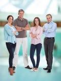Gruppo di persone di affari felici Immagine Stock Libera da Diritti