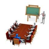 Gruppo di persone sulla riunione Fotografia Stock