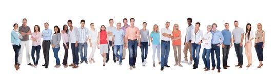 Gruppo di persone vario Immagine Stock Libera da Diritti