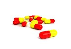 Gruppo di pillole Fotografia Stock