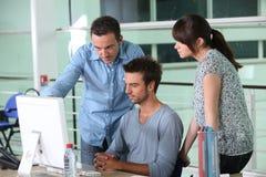 Gruppo di progettisti Immagine Stock