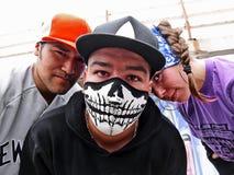 Gruppo di rapper Immagine Stock