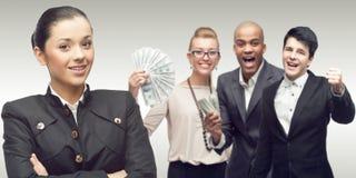 Gruppo di riuscita gente di affari Immagini Stock Libere da Diritti