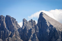 Gruppo di Sassolungo, Dolomiti, Trentino Alto Adige, Italia Fotografia Stock