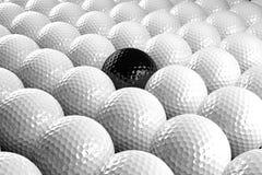 Gruppo di sfere di golf Fotografia Stock