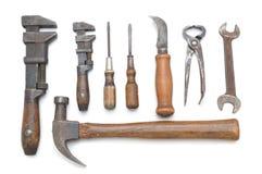 Gruppo di strumenti antichi Fotografia Stock Libera da Diritti