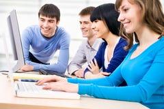 Gruppo di studenti Immagine Stock