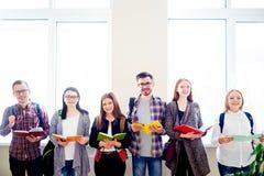 Gruppo di studenti di college Immagine Stock Libera da Diritti