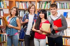Gruppo di studenti felici Fotografia Stock Libera da Diritti