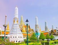 Gruppo di Stupa Immagine Stock Libera da Diritti