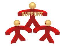 Gruppo di supporto Fotografie Stock