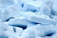 Gruppo di terminali del ghiaccio Fotografia Stock