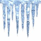 Gruppo di terminali del ghiacciolo illustrazione di stock