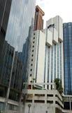Gruppo di terminali della torretta dell'ufficio e dell'hotel immagine stock libera da diritti