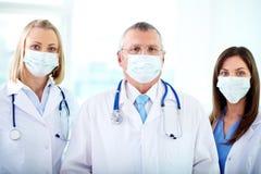 Gruppo di therapeutists Immagine Stock