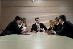 Gruppo di uomini d'affari Immagine Stock