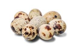 Gruppo di uova di quaglia Fine in su Fotografia Stock