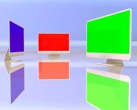 Gruppo di visualizzazione Fotografie Stock