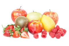 Gruppo di vitamine della frutta tropicale. Immagine Stock Libera da Diritti