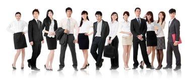 Gruppo asiatico di affari immagine stock
