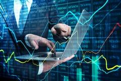 Gruppo e concetto di finanza fotografia stock
