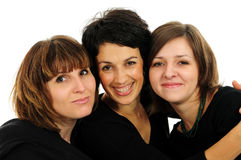 Gruppo felice di amici fotografia stock libera da diritti