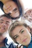 Gruppo felice di giovani Fotografia Stock Libera da Diritti