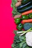 Gruppo fresco di verdure Fotografia Stock
