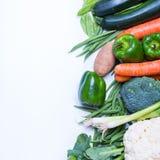Gruppo fresco di verdure Immagine Stock