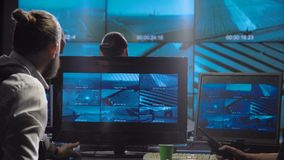 Gruppo futuristico di sorveglianza dell'ufficio delle forze speciali archivi video