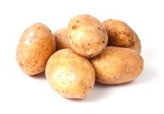 Gruppo giallo della patata immagine stock